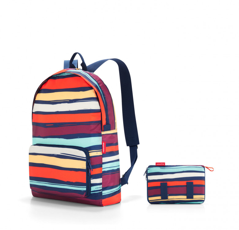 Mini Maxi Rucksack Artist Stripes