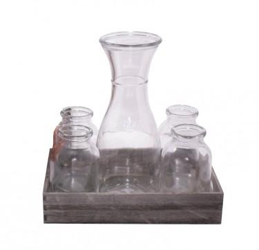 Glass & Pitcher Set GF-69008