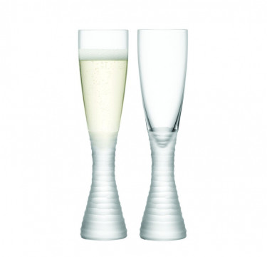Organza Champagne Flute Set of 2