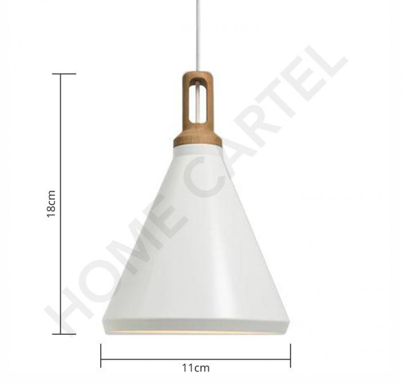 Arlo C White Nordic Pendant Light
