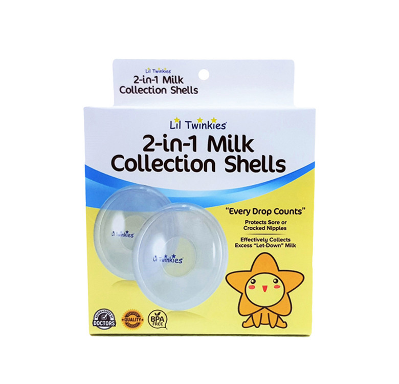 2-in-1 Milk Collection Shells