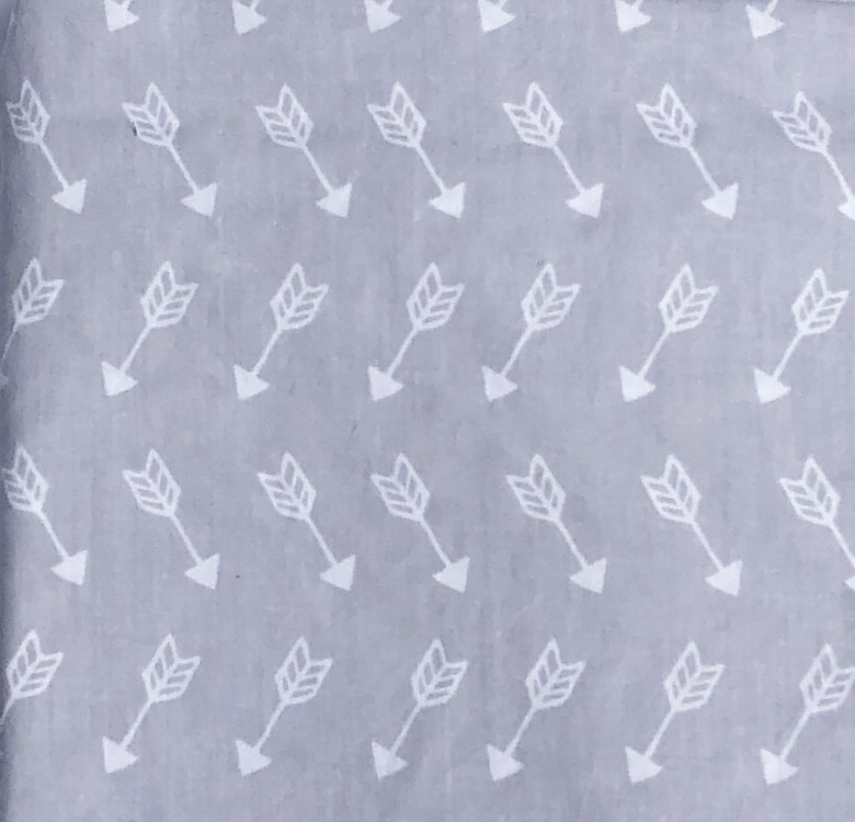 Arrows Fitted Crib Sheet