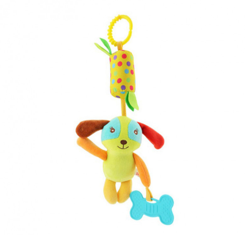 Activity Toy with Chimes, Teether & Stroller Clip