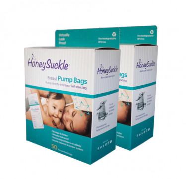 Honeysuckle Breast Pump Bags 6-oz (Box of 2)