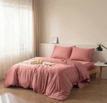 Premium 100% Bamboo Duvet Cover (Canyon Red)