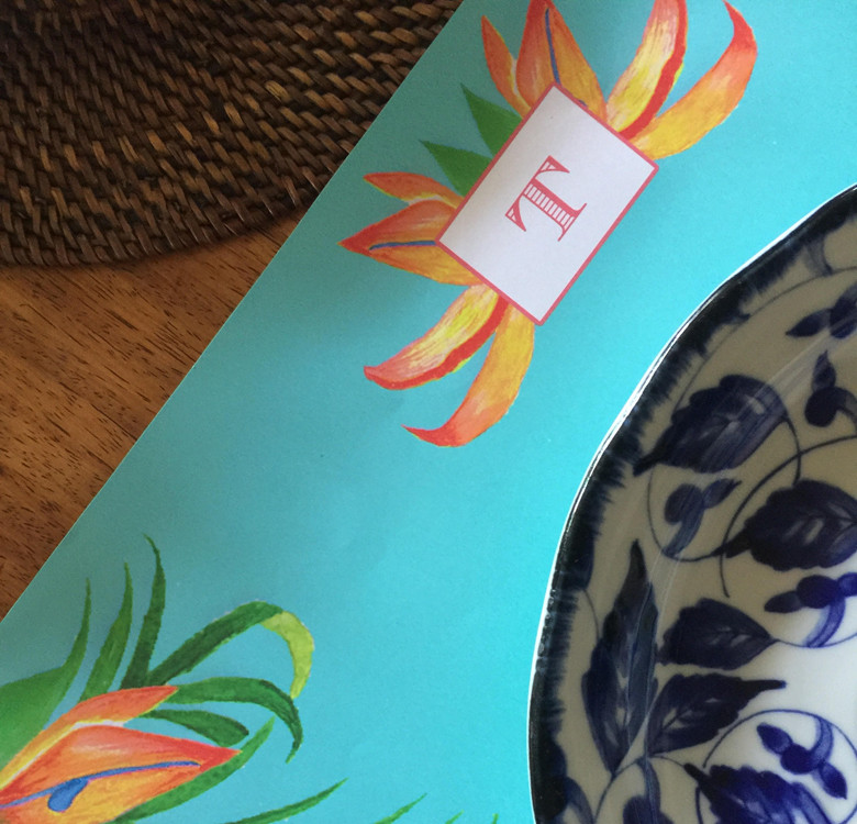 Personalized Paper Placemats (Designs Available)