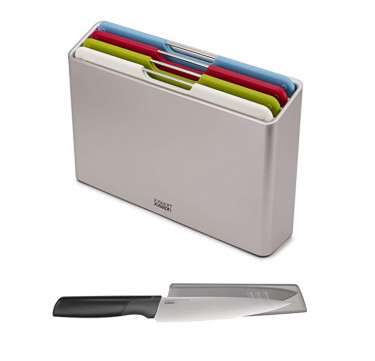 Folio™ 4-Piece Chopping Board Set with FREE Knife