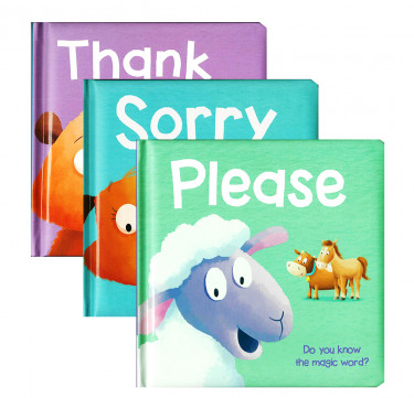 """Manners Board Book: """"Thank You"""", """"Please"""", """"Sorry"""""""