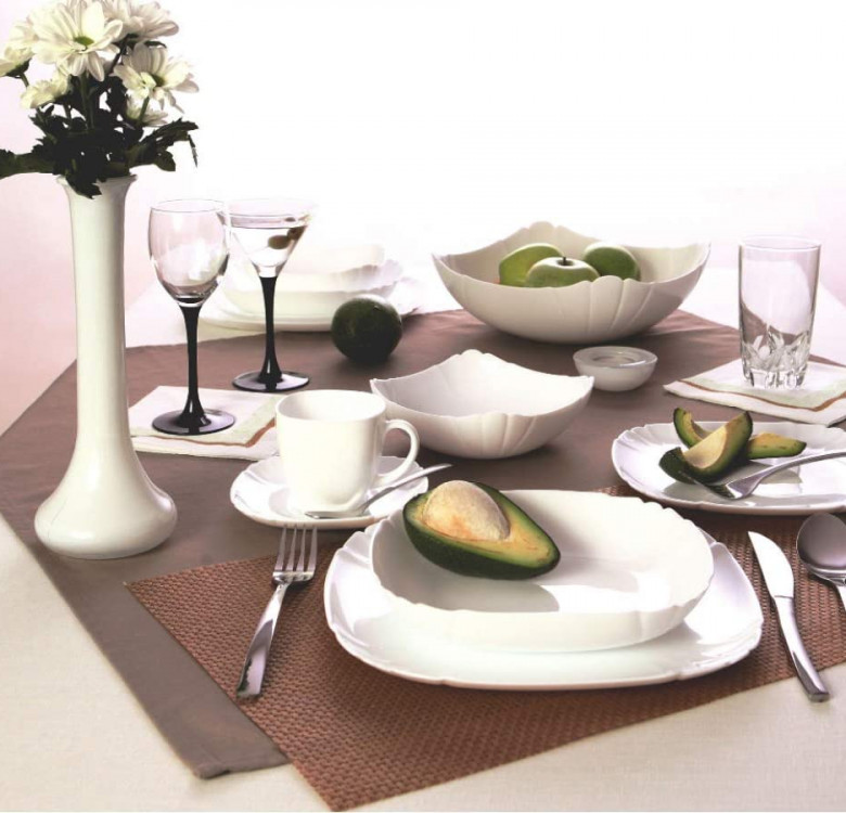 Lotusia 22cm Soup Plate Set of 6