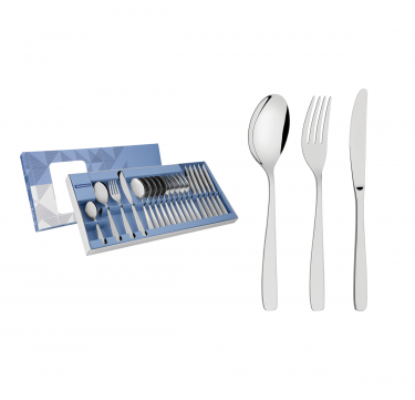Cosmos 24-Piece Flatware Set