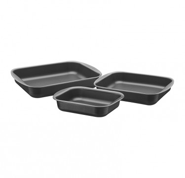 3-Piece Roasting Pan Set