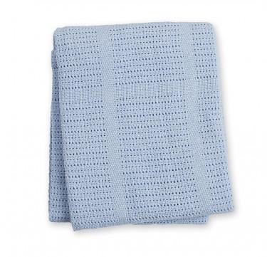 Blue Cellular Blanket