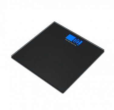 Square Automatic Digital Bathroom Scale w/ Blue Back Light ZJ-316