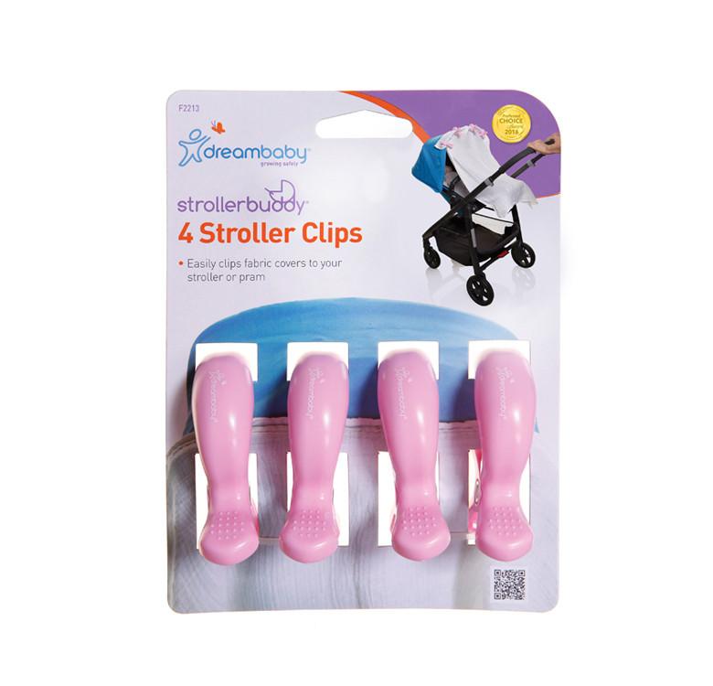 Strollerbuddy® Stroller Clips 4-Pack