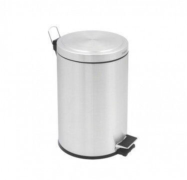 Soft Touch Stainless Steel Pedal Bin
