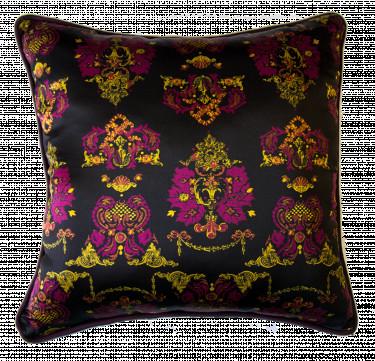 Victorian Silk Pillow
