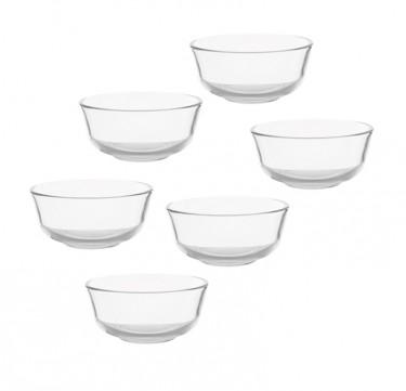 """Ocean Glassware Assurance Bowl 4 1/2"""" Set of 6"""