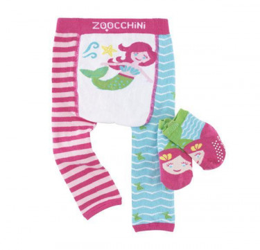 Marietta the Mermaid Baby Safety Training Pants & Socks Set