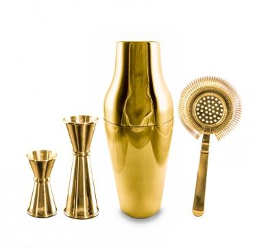 Gold Shaker Set