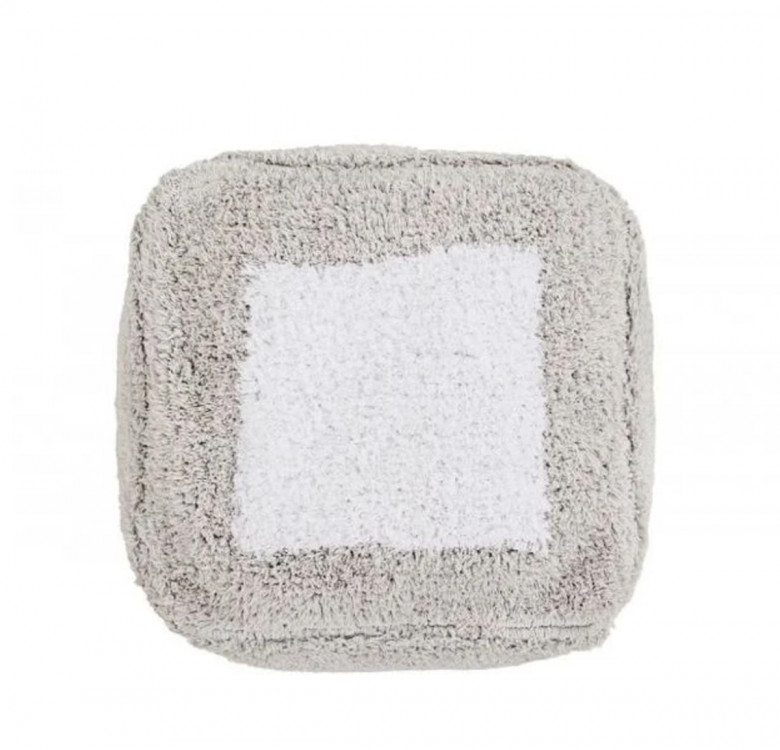 Pouffe - Marshmallow Square - Vintage Nude by Lorena