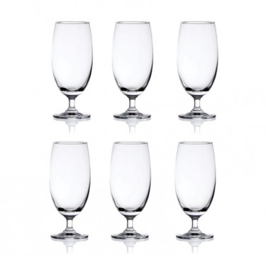 Classic Beer 14 3/4 Oz. Set of 6