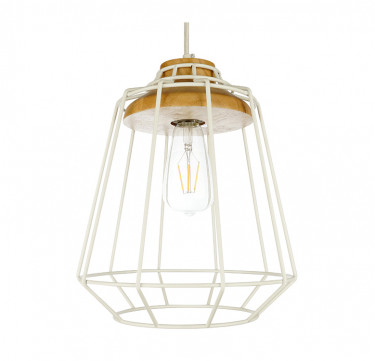Huck 2 White Pendant Light