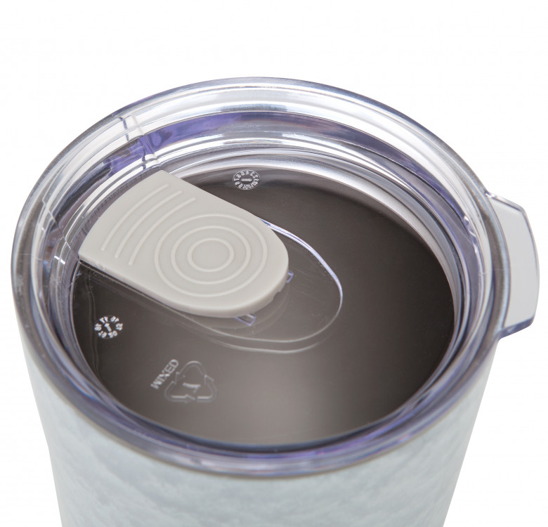 Aladdin Earthscapes™ Stainless Steel Vacuum Tumbler 30oz (Snow)
