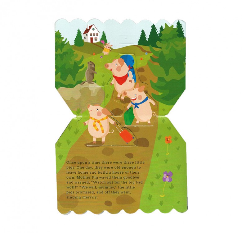 Pop-Up Fairy Tale House Set (Board Book)