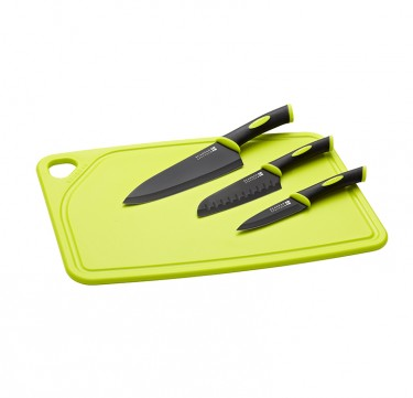 Spectrum 4-Piece Cutting Set