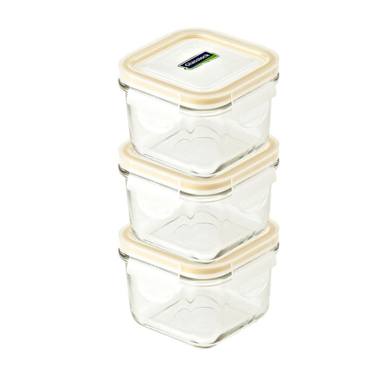 3pc Baby Meal Set Square