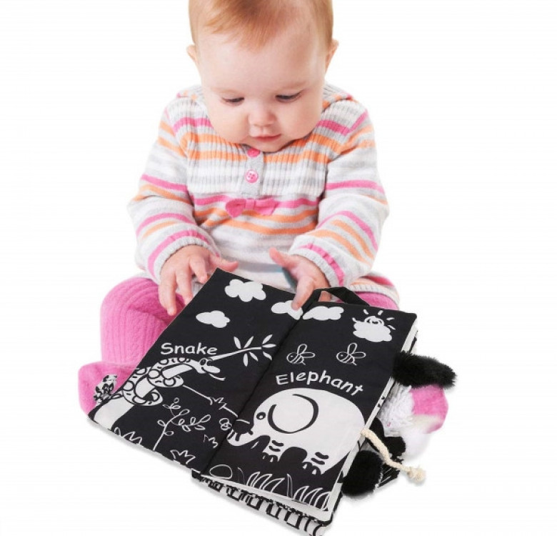Baby's First Black & White Soft Book