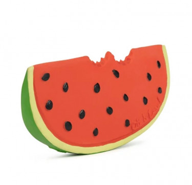 Oli & Carol Wally the Watermelon Teether & Bath Toy