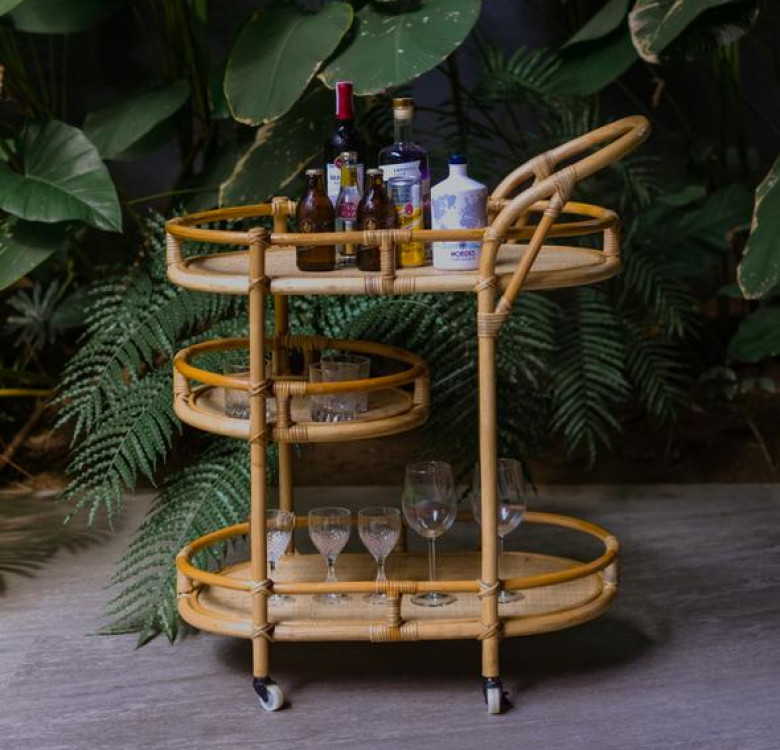 HADLEY Bar Cart