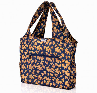 ALL Foldable Zippered Tote (Marigold)