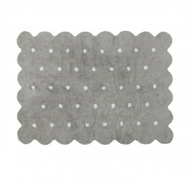 Biscuit Washable Rug