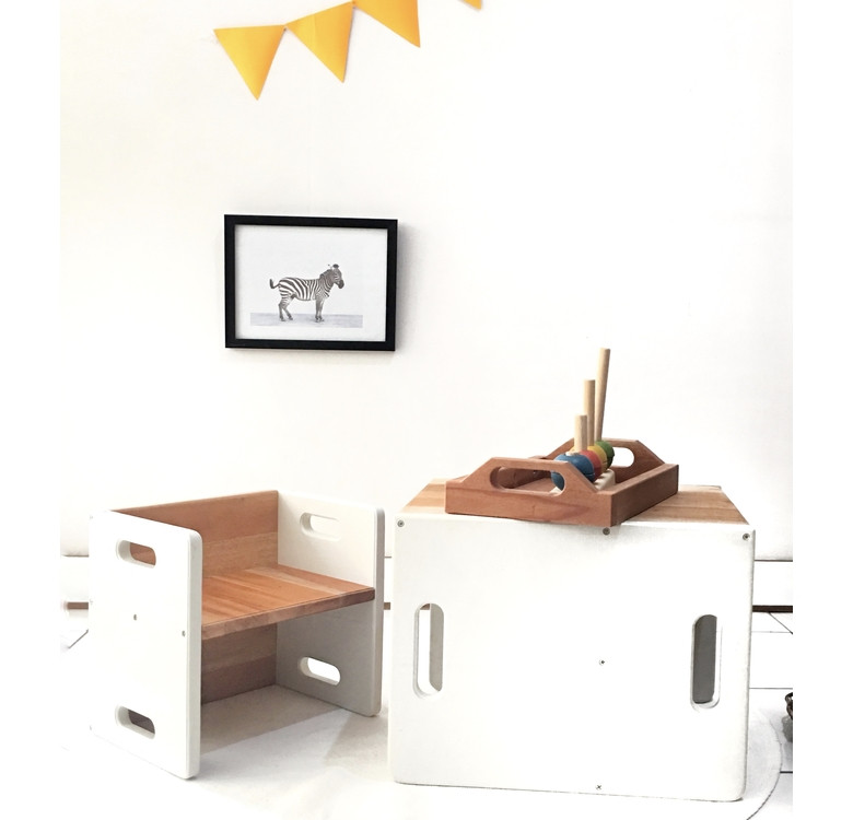 Cube Table & Chair Set