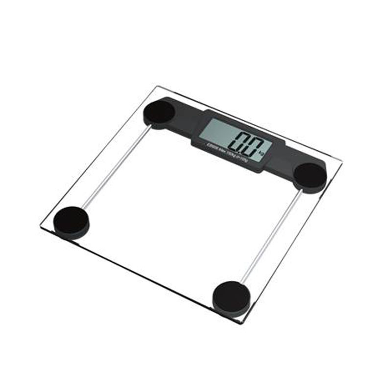Square Automatic Digital Bathroom Scale ZJ-609