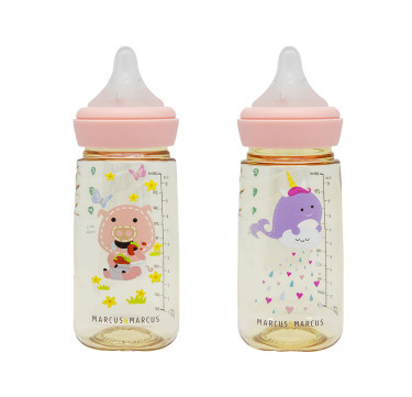 PPSU Transition Feeding Bottle Set of 2 (300ml)