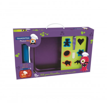 Monster Chef 9-Piece Cookie Set