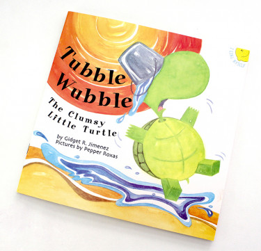 Tubble Wubble, The Clumsy Turtle (Picture Book)