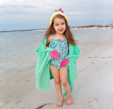 Marietta the Mermaid Kids Towel Hoodie