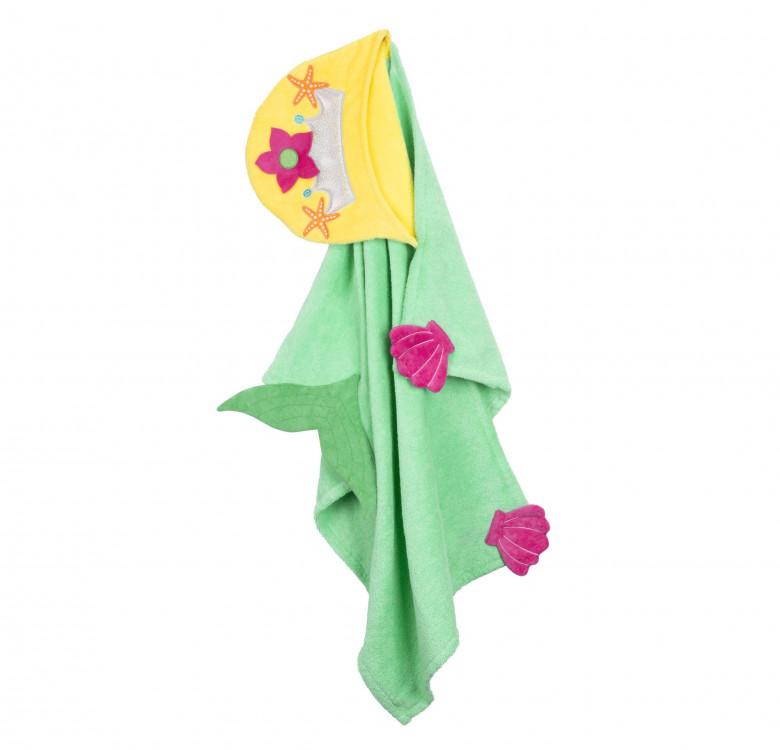 Marietta the Mermaid Kids Towel Hoodie