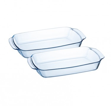 2-Pieces Sabot Rectangular Dish