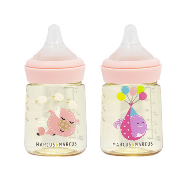 PPSU Transition Feeding Bottle Set of 2 (180ml)
