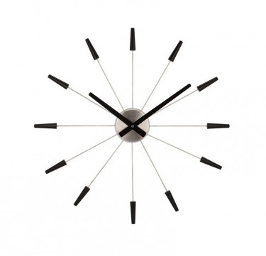 Black Plug Inn Wall Clock