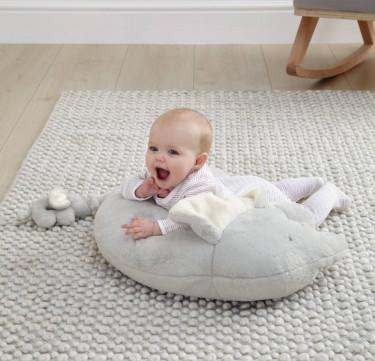 Tummy Time Snugglerug - Elephant & Baby