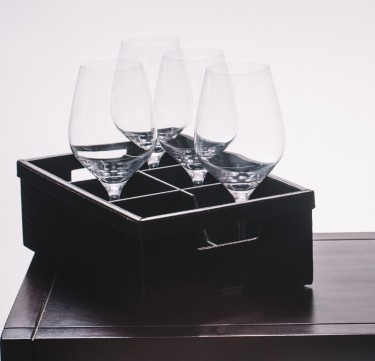 Glass Caddy