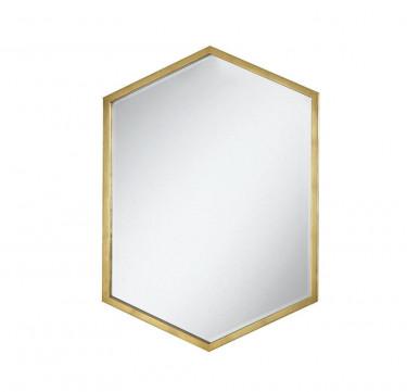Malmo Mirror (Brass)