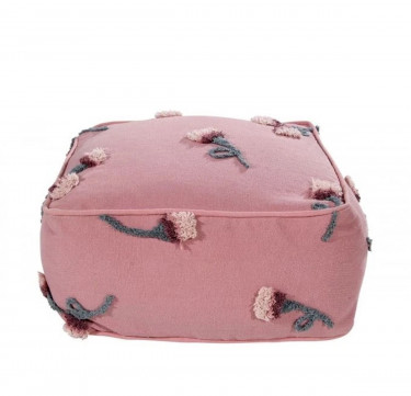 Lorena Canals English Garden Ash Rose Pouffe