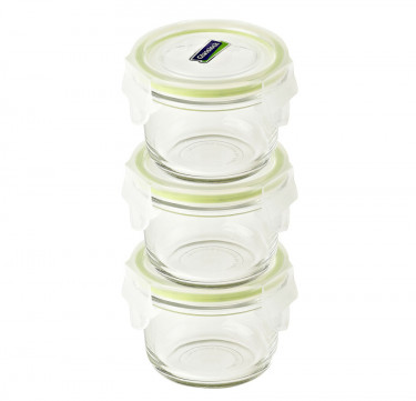 3pc Baby Meal Set Round